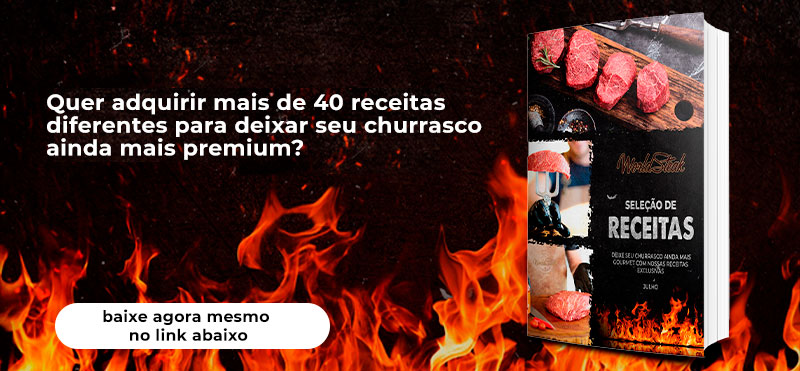 E-BOOK de Receitas World Steak